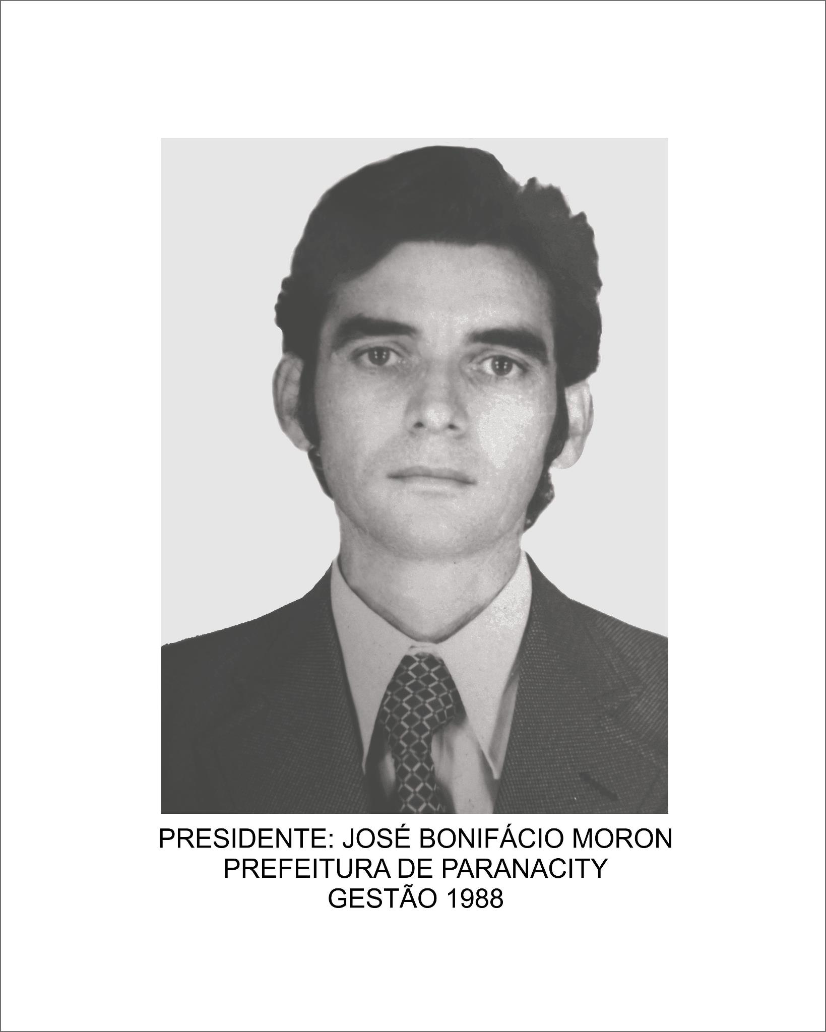José Bonifácio Moron