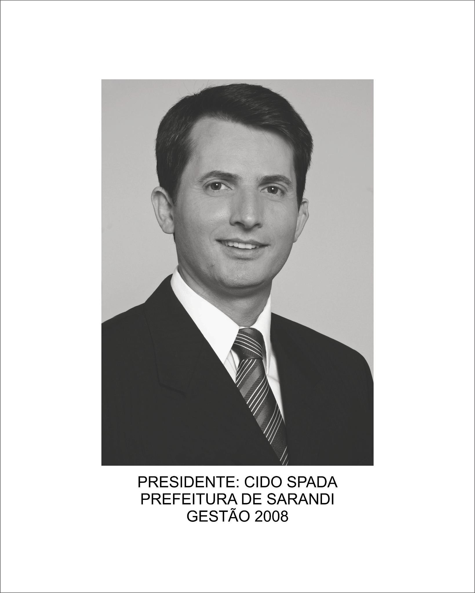 Aparecido Farias Spada (Cido Spada)